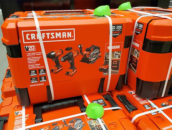 Craftsman V20 Cordless Power Tool Combo Kit