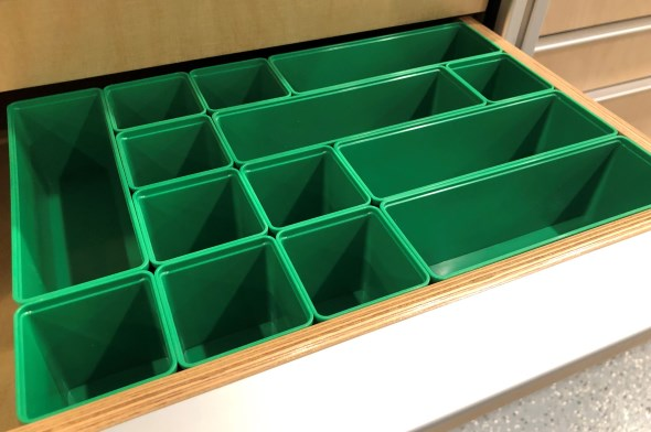 Organizing my Modular Tool Cabinet Drawers - Auer Tubs