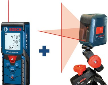 Bosch Laser Measuring Tool Bundle Deal May 2019