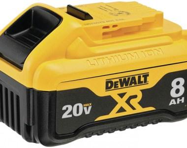 Dewalt 20V Max 8Ah Cordless Power Tool Battery