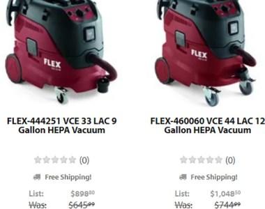 Acme Tools Flex HEPA Vacuum Deals