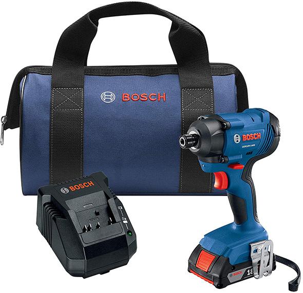 Bosch GDR18V-1400B12 Cordless Impact Driver Kit