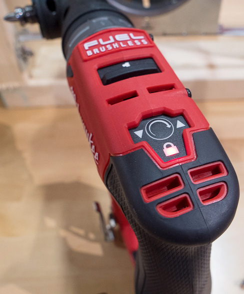 Milwaukee M12 Fuel Cordless Installation Drill Driver Tool Electronic Controls
