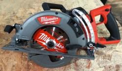 "Milwaukee M18 Fuel 7-1/4"" Rear Handle Circular Saw at NPS19"