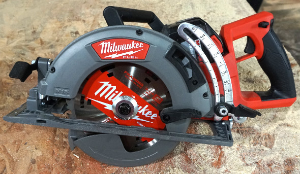 "Milwaukee M18 Fuel 7-1/4"" Rear Handle Circular Saw at NPS19"