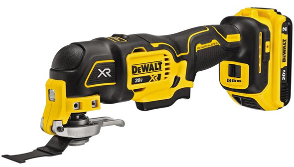 DEWALT 20V MAX XR DCS356C1 3-Speed Cordless Oscillating Multi-Tool Kit New!