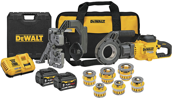 Dewalt FlexVolt Cordless Pipe Threader Kit DCE700X2K