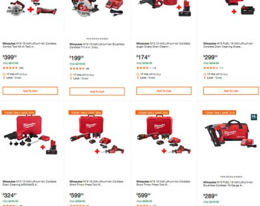 Milwaukee Tool Deals of the Day 7-3-2019 Page 2
