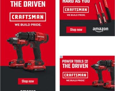 Amazon Craftsman Ads Fall 2019