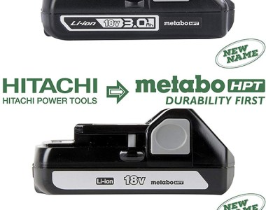 Metabo HPT 18V Cordless Power Tool Batteries