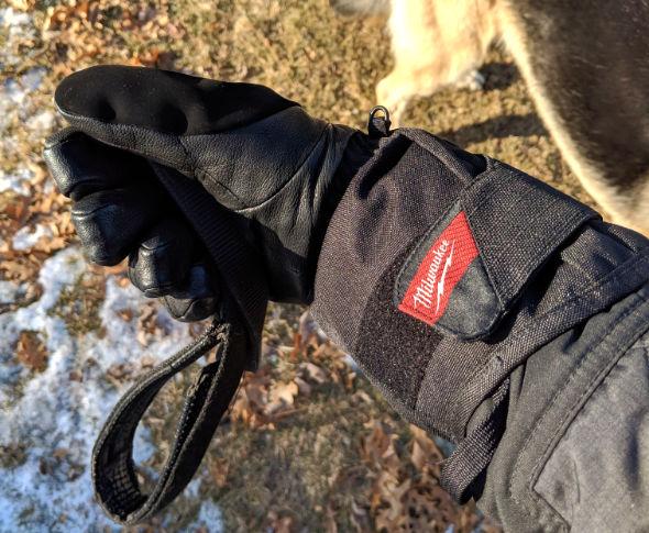 Milwaukee Heated Gloves Walking the Dog