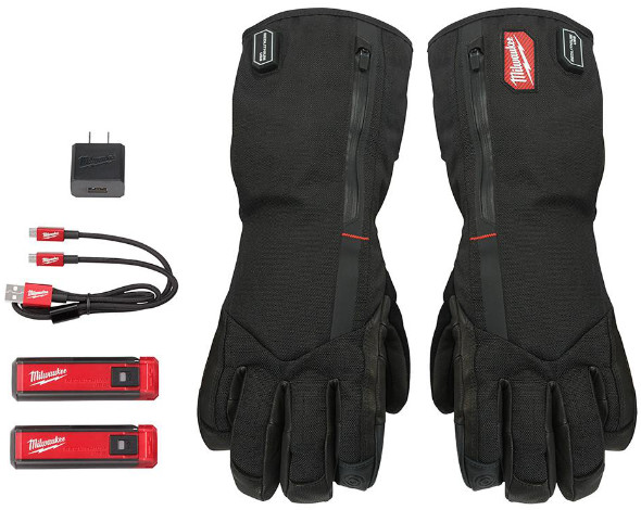 Milwaukee Heated Gloves with everything included