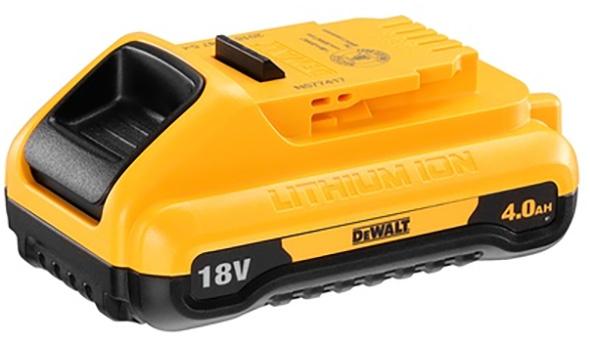 Dewalt 20V Max Compact 4Ah Cordless Power Tool Battery