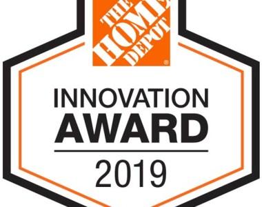 Home Depot Innovation Award Badge