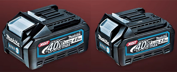 Makita XGT 40V Max Cordless Power Tool Batteries