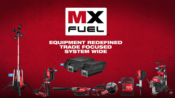 Milwaukee MX Fuel Cordless Light Equipment Tools 2020