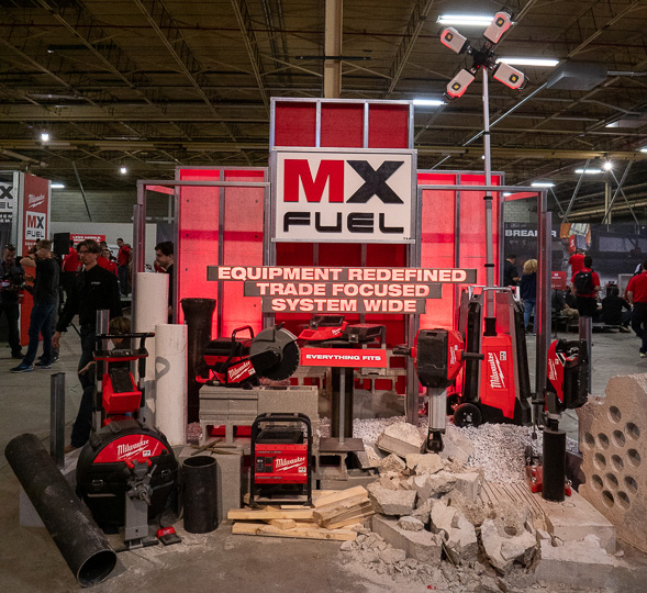 Milwaukee MX Fuel Cordless Power Tool System Launch Products