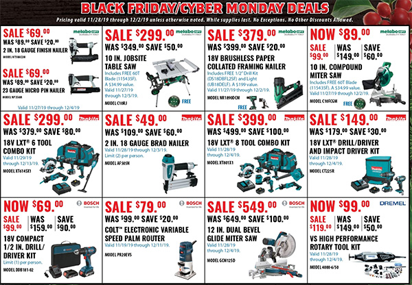 Acme Tools Black Friday 2019 Sales Flyer Page 2