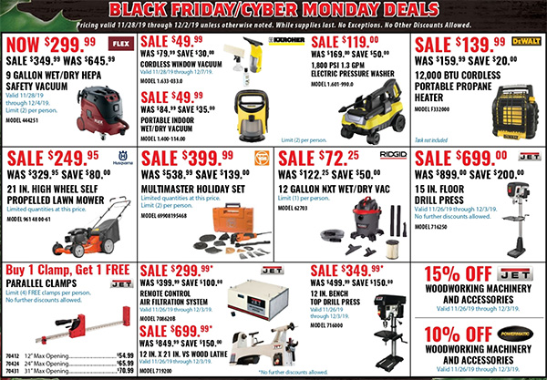 Acme Tools Black Friday 2019 Sales Flyer Page 3