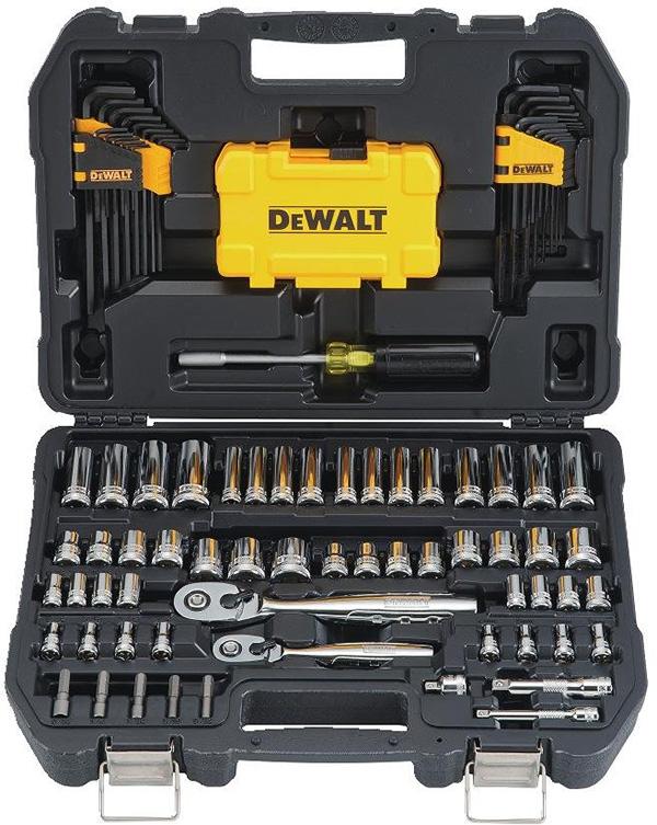 Dewalt 108pc Mechanics Tool Set DWMT73801