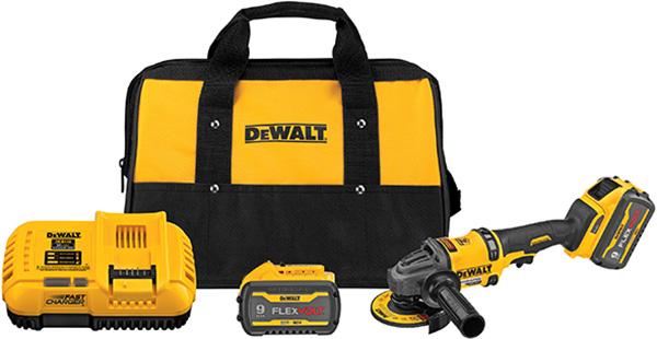 Dewalt DCG418 FlexVolt Cordless Angle Grinder Kit