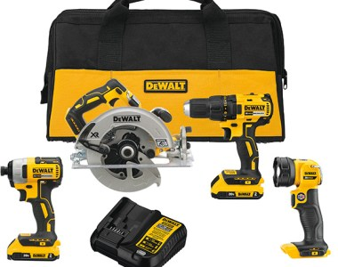 Dewalt DCK477D2 20V Max Brushless Cordless Power Tool Combo Kit