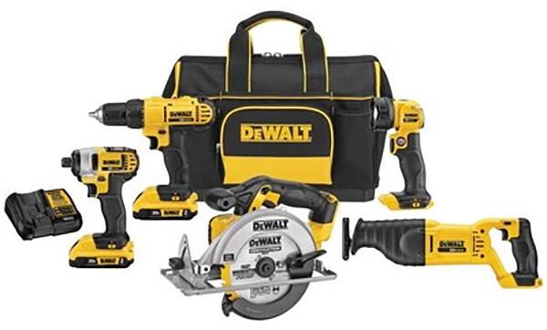 Dewalt DCKSS520D2 20V Max Cordless Power Tool Combo Kit