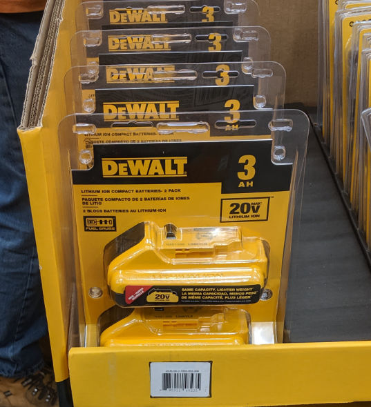 Home Depot 2019 Pre Black Friday Special Buys Dewalt Batteries