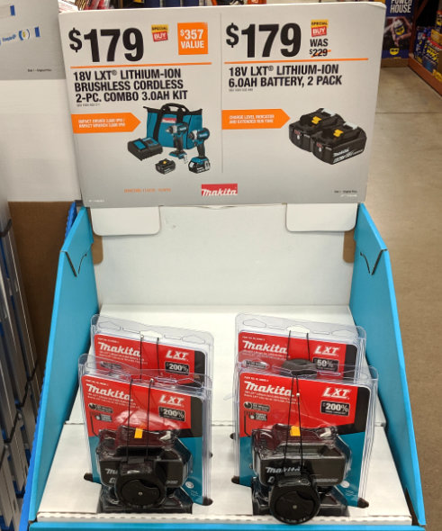 Home Depot 2019 Pre Black Friday Special Buys Makita 6 Ah Batteries
