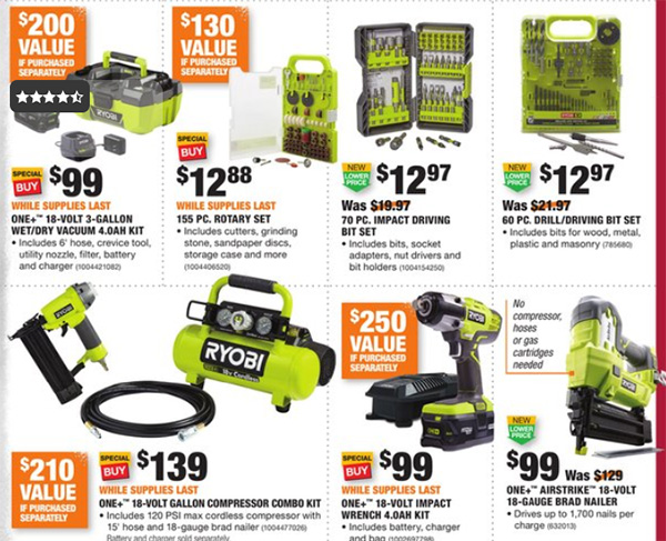 Home Depot Black Friday 2019 Official Tool Deals Page 6