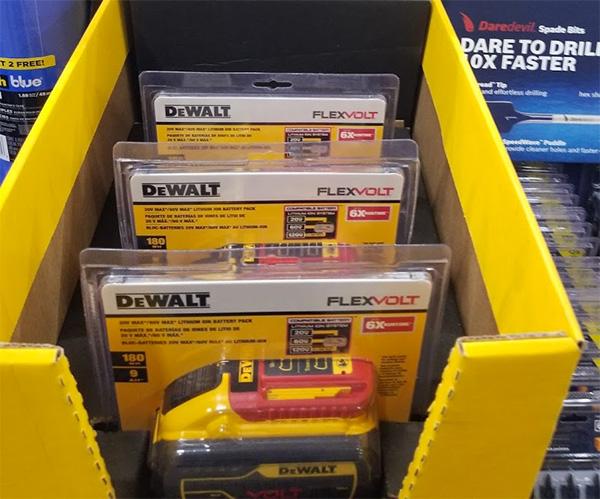 Home Depot Pro Black Friday 2019 Dewalt FlexVolt Battery Deal