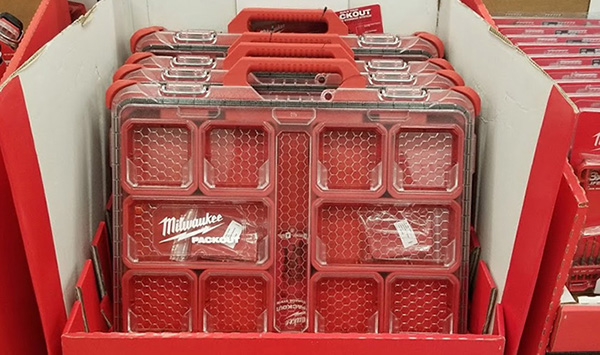 Home Depot Pro Black Friday 2019 Milwaukee Low Profile Packout Organizer Deal