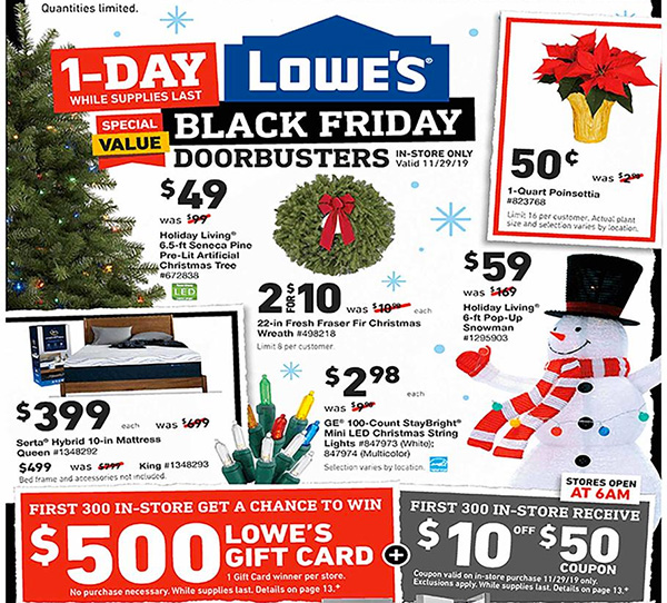 Lowes Black Friday 2019 Tool Deals Page 1