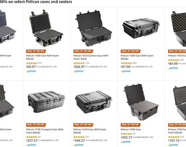 Pelican Case Deal of the Day 11-27-19