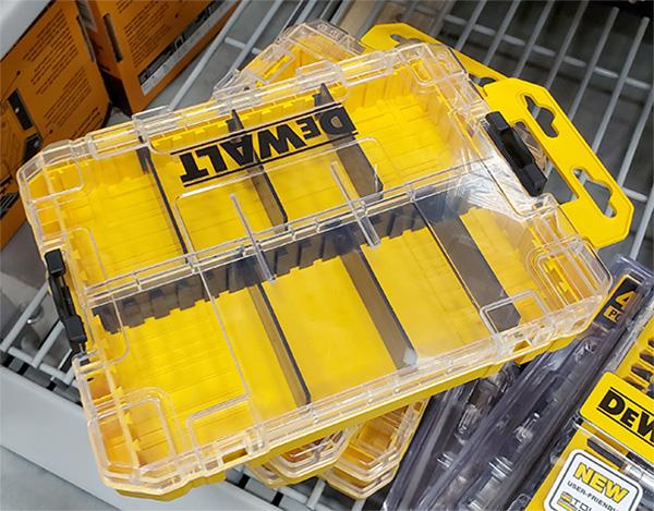 Dewalt ToughCase Plus Medium Bit Storage Box