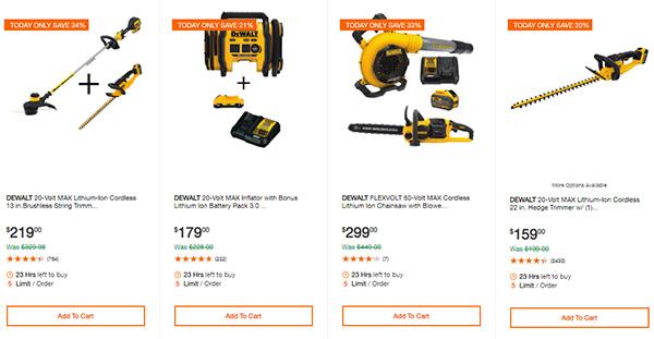 Home Depot Cyber Monday Dewalt Milwaukee Cordless Power Tool Deals Page 12