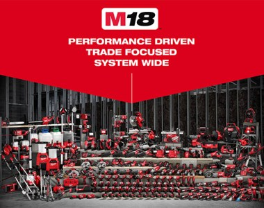 Milwaukee M18 Cordless Power Tool Family
