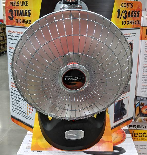 Presto Parabolic IR Heater