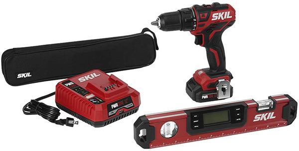 Skil 12V Max Brushless Drill Kit and Level Bundle
