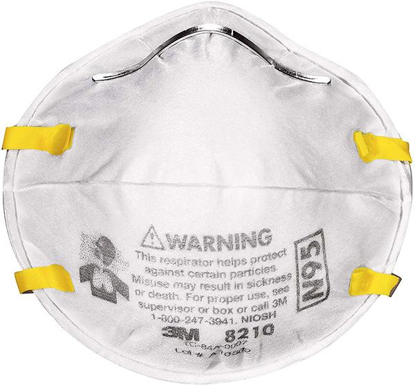 3M N95 Resiprator Face Mask