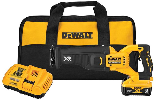 Dewalt 20V Max DCS368 Power Detect Reciprocating Saw Kit