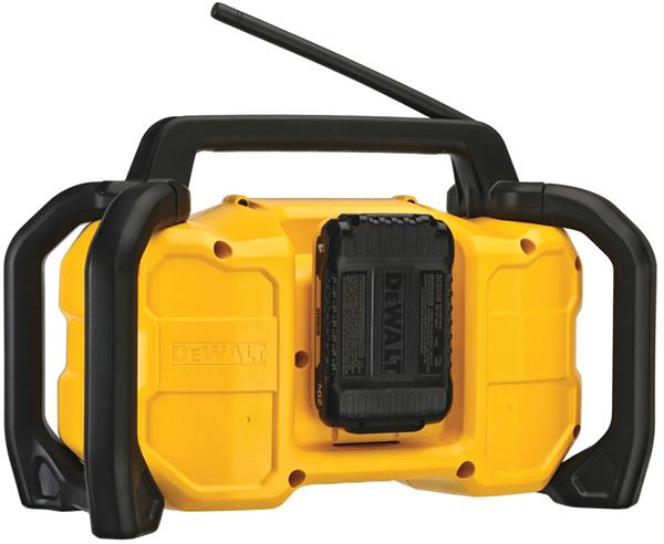 Dewalt DCR028 Cordless Bluetooth Radio Rear Battery Compartment