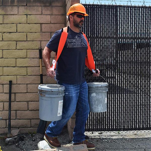 Double Bucket Buddy Sash