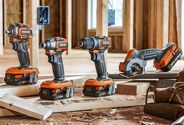 Ridgid 18V SubCompact Cordless Power Tools Launch 2020 Product Family R8723 R8701 R87027B R87547B