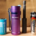 Olight SR1 Baton LED Flashlight Size