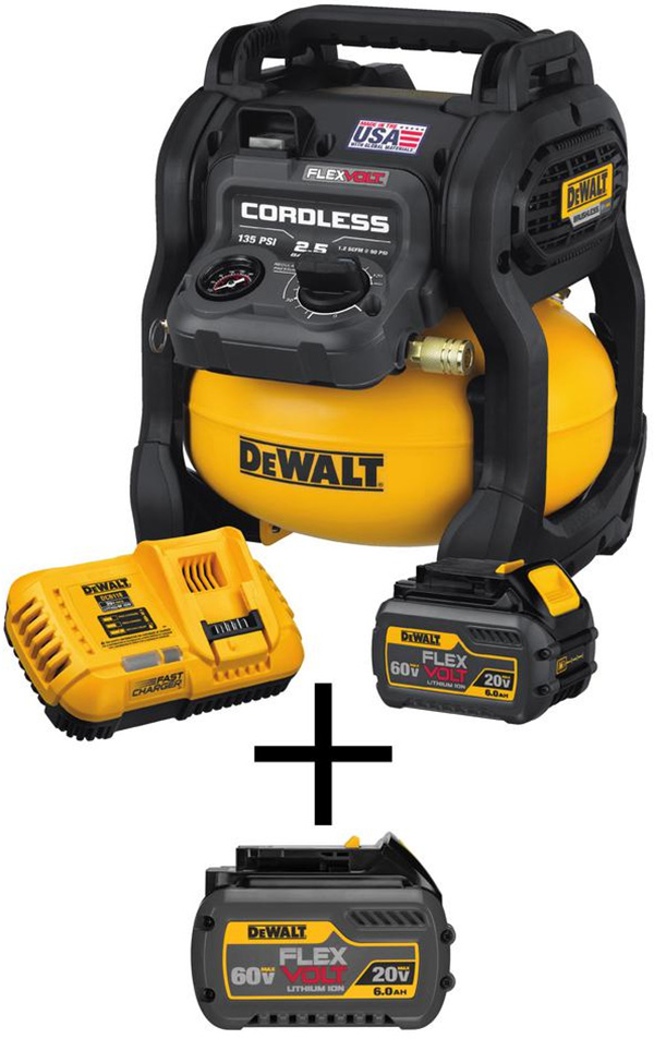 Dewalt FlexVolt Cordless Air Compressor Bundle Deal 06-2020