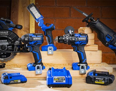 Kobalt 24V Max XTR Cordless Power Tool Family