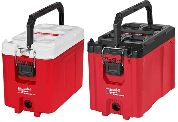 Milwaukee Packout Compact Cooler and Tool Box Bundle