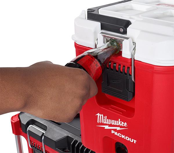 Milwaukee Packout Cooler Tool Box Bottle Opener