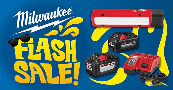 Milwaukee Tool Flash Sale 6-6-2020
